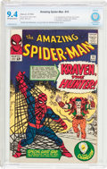 Silver Age (1956-1969):Superhero, The Amazing Spider-Man #15 (Marvel, 1964) CBCS NM 9.4 Off-white towhite pages....