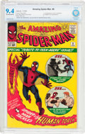 Silver Age (1956-1969):Superhero, The Amazing Spider-Man #8 (Marvel, 1964) CBCS NM 9.4 Off-white towhite pages....