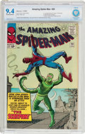 Silver Age (1956-1969):Superhero, The Amazing Spider-Man #20 (Marvel, 1965) CBCS NM 9.4 Off-white to white pages....
