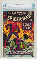 Silver Age (1956-1969):Superhero, The Amazing Spider-Man #40 (Marvel, 1966) CBCS NM+ 9.6 Off-white towhite pages....
