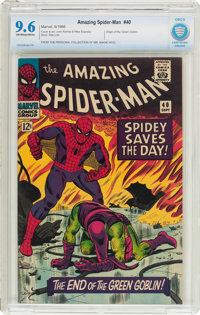 The Amazing Spider-Man #40 (Marvel, 1966) CBCS NM+ 9.6 Off-white to white pages