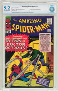 Silver Age (1956-1969):Superhero, The Amazing Spider-Man #11 (Marvel, 1964) CBCS NM- 9.2 Off-white to white pages....