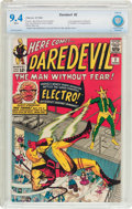 Silver Age (1956-1969):Superhero, Daredevil #2 (Marvel, 1964) CBCS NM 9.4 White pages....
