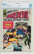 Silver Age (1956-1969):Superhero, Daredevil #3 (Marvel, 1964) CBCS NM+ 9.6 Off-white to whitepages....