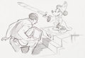 Animation Art:Production Drawing, Mickey Mouse WED Drawing (Walt Disney, c. 1990s). ...