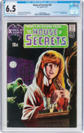 Bronze Age (1970-1979):Horror, House of Secrets #92 (DC, 1971) CGC FN+ 6.5 Off-white to white pages....
