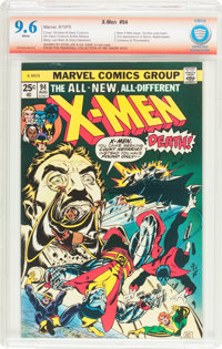 X-Men #94 Verified Signature (Marvel, 1975) CBCS NM+ 9.6 White pages