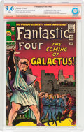 Silver Age (1956-1969):Superhero, Fantastic Four #48 Verified Signature (Marvel, 1966) CBCS NM+ 9.6 White pages....