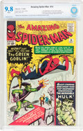 Silver Age (1956-1969):Superhero, The Amazing Spider-Man #14 (Marvel, 1964) CBCS NM/MT 9.8 Whitepages....