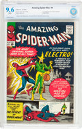 Silver Age (1956-1969):Superhero, The Amazing Spider-Man #9 (Marvel, 1964) CBCS NM+ 9.6 White pages....