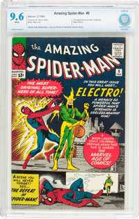 The Amazing Spider-Man #9 (Marvel, 1964) CBCS NM+ 9.6 White pages