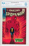 Silver Age (1956-1969):Superhero, The Amazing Spider-Man #50 (Marvel, 1967) CBCS NM+ 9.6 Whitepages....