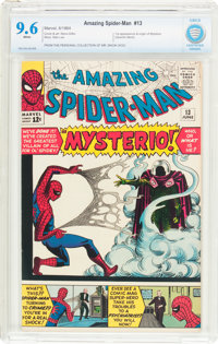 The Amazing Spider-Man #13 (Marvel, 1964) CBCS NM+ 9.6 White pages