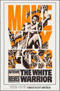 """Movie Posters:Action, The White Warrior (Warner Brothers, 1961). One Sheet (27"""" X 41""""), Lobby Cards (4) (11"""" X 14""""), & Photos (3) (8"""" X 10""""). Acti... (Total: 8 Items)"""