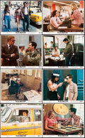 "Movie Posters:Crime, Taxi Driver (Columbia, 1976). Mini Lobby Card Set of 8 (8"" X 10"")& Photos (8) (8"" X 10""). Crime.. ... (Total: 16 Items)"
