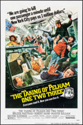 "Movie Posters:Crime, The Taking of Pelham One Two Three (United Artists, 1974). OneSheet (27"" X 41"") & Mini Lobby Card Set of 8 (8"" X 10"").Crim... (Total: 9 Items)"
