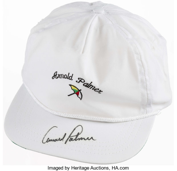 b11b42f3b08 Arnold Palmer Signed Hat.... Golf Collectibles Miscellaneous