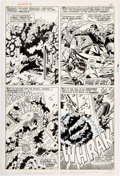Original Comic Art:Panel Pages, John Buscema and Frank Giacoia Sub-Mariner #3 Page 7Original Art (Marvel, 1968)....