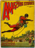 Pulps:Science Fiction, Amazing Stories - August 1928 (Ziff-Davis) Condition: VG-....