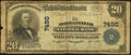 National Bank Notes:Kentucky, Morganfield, KY - $20 1902 Plain Back Fr. 650 The Morganfield NBCh. # 7490. ...