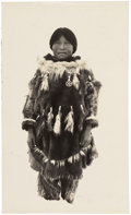 American Indian Art:Photographs, Twenty-Nine Original Photographs - Postcards of Yupik EskimoLife...