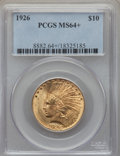 Indian Eagles, 1926 $10 MS64+ PCGS....