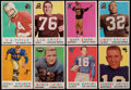 Football Cards:Sets, 1959 Topps Football Complete Set (176). ...