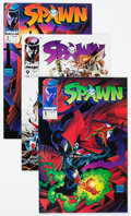 Modern Age (1980-Present):Superhero, Spawn-Related Box Lot (Image, 1990s-2000s) Condition: AverageNM-....