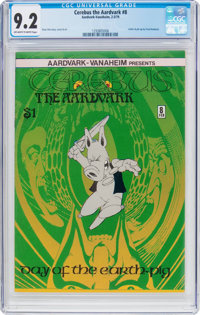 Cerebus the Aardvark #8 (Aardvark-Vanahem, 1979) CGC NM- 9.2 Off-white to white pages