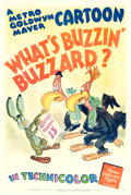 "Movie Posters:Animation, What's Buzzin' Buzzard? (MGM, 1943). Tex Avery One Sheet (27"" X41"").. ..."