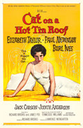 "Movie Posters:Drama, Cat on a Hot Tin Roof (MGM, 1958). One Sheet (27"" X 41""). ReynoldBrown Artwork.. ..."