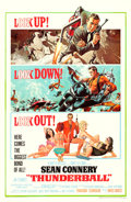 "Movie Posters:James Bond, Thunderball (United Artists, 1965). One Sheet (27"" X 41"") FrankMcCarthy and Robert McGinnis Artwork.. ..."