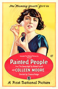 "Movie Posters:Comedy, Painted People (First National, 1924). One Sheet (27"" X 41.5"").. ..."