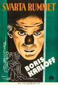 "Movie Posters:Horror, The Black Room (Columbia, 1935). Swedish One Sheet (27"" X 39.5"")Eric Rohman Artwork.. ..."