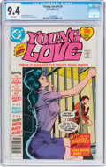 Bronze Age (1970-1979):Romance, Young Love #124 (DC, 1977) CGC NM 9.4 White pages....