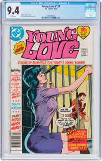 Young Love #124 (DC, 1977) CGC NM 9.4 White pages