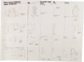Animation Art:Concept Art, Family Dog Character Design Drawings Group of 140 (Amblin, 1993).... (Total: 140 Items)