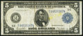 Fr. 863a $5 1914 Federal Reserve Note Very Fine