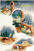 "Animation Art:Production Drawing, ""Timber"" Good Housekeeping Illustration by Hank Porter (WaltDisney, 1941)...."