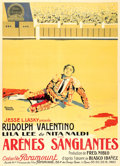 "Movie Posters:Drama, Blood and Sand (Paramount, 1922). French Grande (44.5"" X 61.5"")Jacques Bonneau Artwork.. ..."