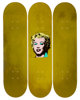 Andy Warhol (1928-1987) Gold Marilyn Set of 3 decks Edition of 100  ... (Total: 3 Items)