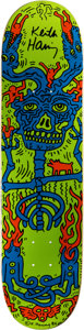 Prints:Contemporary, Keith Haring (1958-1990). Blue/Orange/Green, 1986. 31 x 8inches (78.7 x 20.3 cm). Stamped with artist's signature verso...