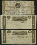 Obsoletes By State:Ohio, Cincinnati, (OH)- (John H. Piatt & Company) $1 and $2 18__Remainders; (Bedford), PA- Chambersburg & Bedford TurnpikeRoad... (Total: 3 notes)