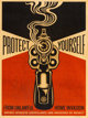 Shepard Fairey (b. 1970) Home Invasion Screenprint on wood 24 x 18 inches (61.0 x 45.7 cm) Ed. 2/6 Signed lower rig