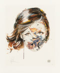 Prints:Contemporary, Sandra Chevrier (b. 1983). Immune to Her Charms. Handembellished giclée on 300 GSM smooth cotton archival rag paper.28...