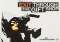 Prints:Contemporary, After Banksy (b. 1974). Exit Through the Gift Shop poster.Offset lithograph in colors. 16-1/2 x 23-1/4 inches (41.9 x 5...