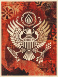 Prints:Contemporary, Shepard Fairey (b. 1970). Keep it Underground, 2015.Screenprint in colors. 24 x 18 inches (61.0 x 45.7 cm) (sheet).Ed....