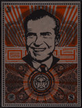 Prints:Contemporary, Shepard Fairey (b. 1970). Lenin Money, MAO Money, andNixon Money (three works), 2002. Silkscreen on metal.24 x... (Total: 3 Items)
