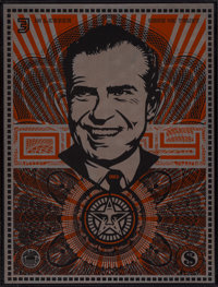 Shepard Fairey (b. 1970) Lenin Money, MAO Money, and Nixon Money (three works), 2