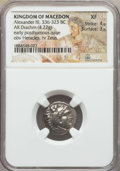 Ancients:Greek, Ancients: MACEDONIA. Alexander III the Great (336-323 BC). ARdrachm (4.22 gm). NGC XF 4/5 - 3/5....